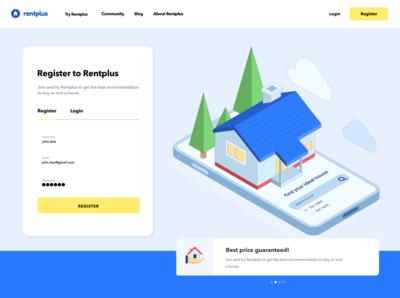 Rentplus | Full Register