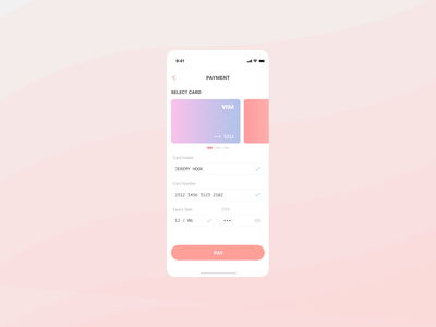 Mobile UI credit card checkout concept ux uxui mobile app checkout page checkout mobile design mobile ui dailyui 100days 100daychallenge design concept
