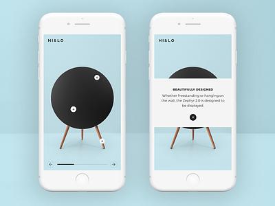 HI&LO famous studio uiux product hotspot design app mobile ui ux mobile ui