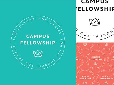 Campus Fellowship Icon icon logo branding college ministry campus fellowship