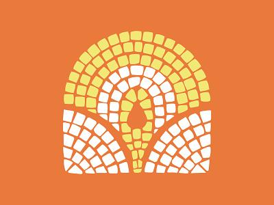 Wisdom Mosaic series design branding logo illustration