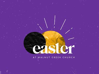 Easter 2021 easter branding logo illustration