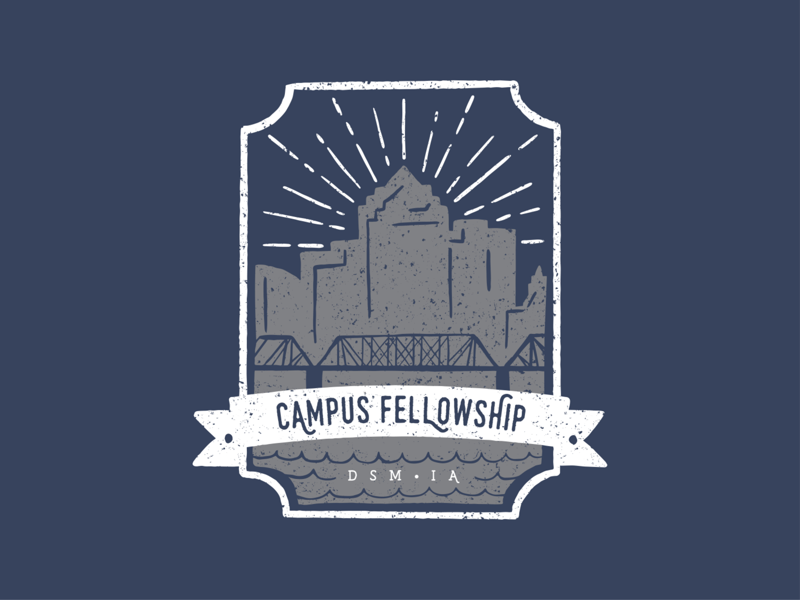 Campus Fellowship Des Moines T Shirt By Kylee Bateman On Dribbble
