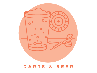 Who likes Darts & Beers?!