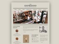 ESPRESSO, COFFEE HOUSE
