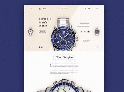 EITO, Designer Watch Store