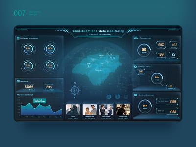 Large data dashboard 2 dashboard ui dashboard design dashboard logo color 图标 design 应用 web 向量 ux 品牌 原创 c4d 插图 ui 设计