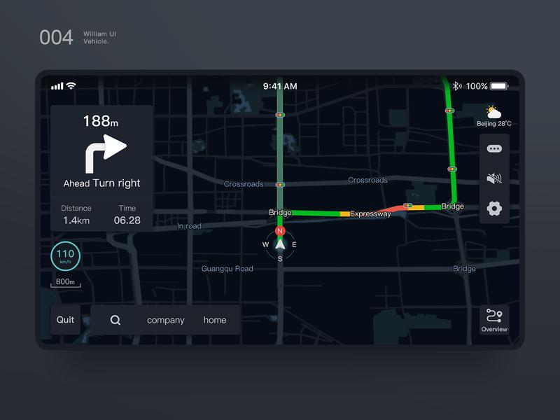 Vehicle UI Navigation logo color dashboard design dashboard app illustration 图标 向量 design 应用 web 原创 ux ui 设计 vehicle wrap navigation vehicle vehicle design
