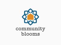 Community Blooms Logo Concept 2