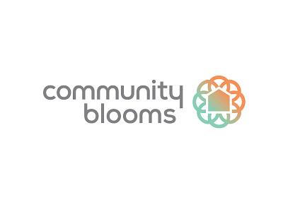 Community Blooms Logo Final Version flower logo