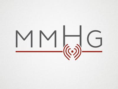 mmHg Logo branding logo