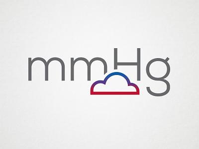 mmHg Logo - Unused Concept 1 branding logo