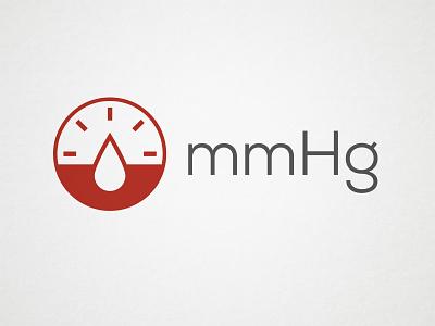 mmHg Logo - Unused Concept 2 branding logo