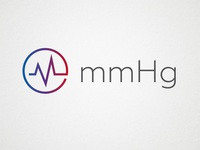 mmHg Logo - Unused Concept 3