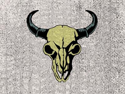 Buffalo Skull skull buffalo illustration