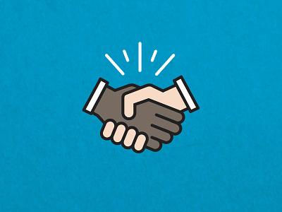 Severed Handshake icon handshake