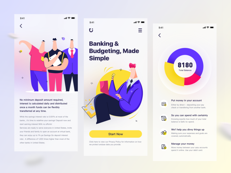 Virtual bank — Invite friends benefit activity friends user interface product design interesting graphic fintech branding data visualization dashboard banking account uiux illustration vector ui design