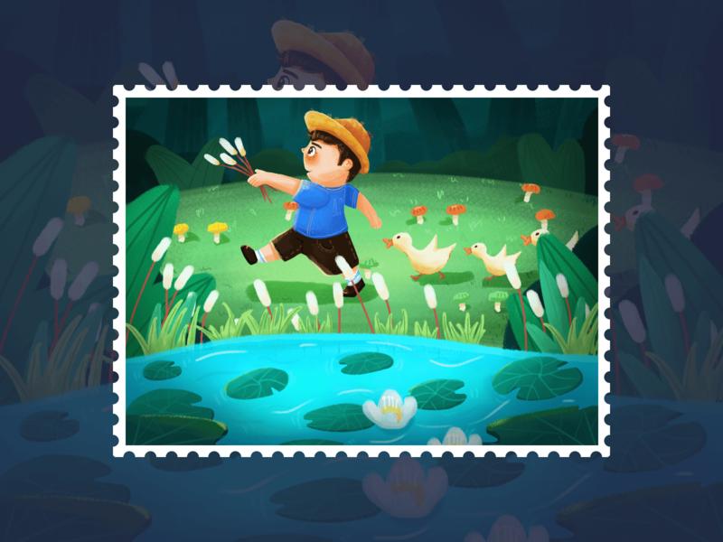 发发的森林旅行3 design icon 设计 illustration ui
