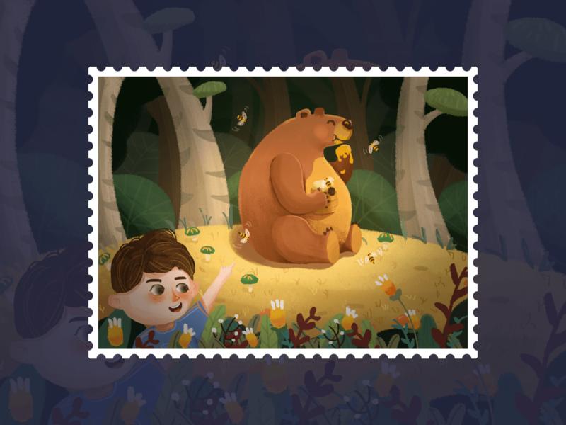 发发的森林旅行  3 应用 logo design ui