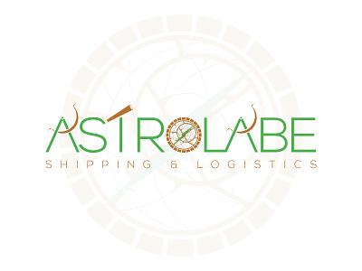 ASTROLABE LOGO direction astrolabe logistic logistics shipping company shipping logo design logodesign logotype logos brand branding illustration vector web logo design color specscale dribbble