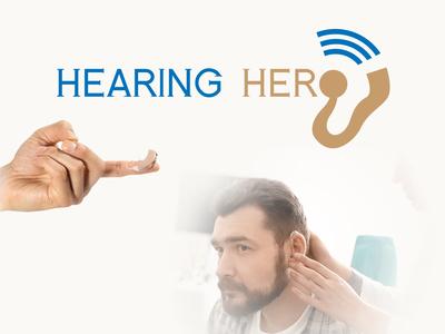 Hearing Hero Logo Design