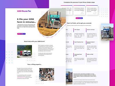 Online Tax - Website Exploration ui web design ui website website website design web design webdesign web ui web uidesign landing page landing homepagedesign homepage design