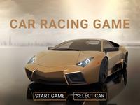 Car Racing Game - select car page