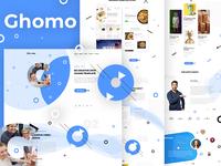Ghomo - Agency HomePage Concept