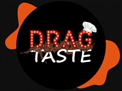Drag Taste Logo chocolate lighting effects lighting sweet taste restaraunt logo food logo food foodie restaurant dribbble specscale logo mark logo designer logodesign logos logo design logotype logo