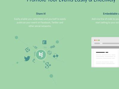 Social sharing share social icons