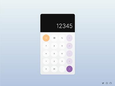 Javascript Calculator calculator ui practice learning javascript calculator