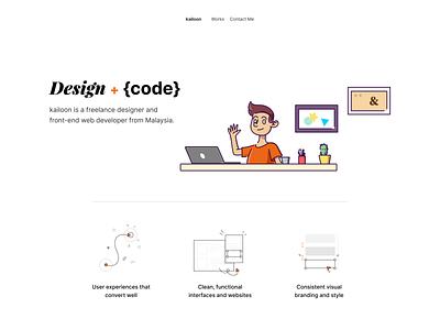 Personal Site Exploration workspace variants figma illustrations/ui web design portfolio illustrations