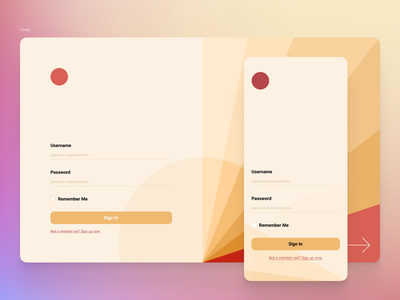 Sign Up Page ios concept figma desktop mobile uidesign signup dailyui