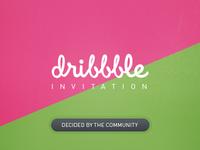 Dribbble Invitation Idea