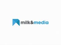 Milk&Media Logo Rebrand