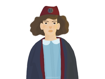 Call The Midwife ! character design midwife girl digital illustration