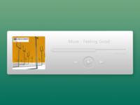 Minimal Music Player
