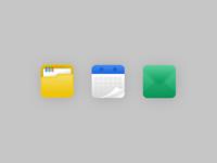 Organisational Icon Set
