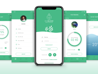 EcoGarden mobile app