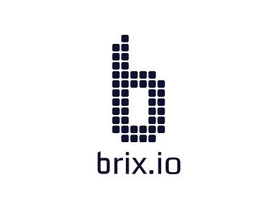 Brixio Logo startup saas builder logo bootstrap