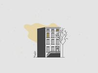 Buildings | Brownstone, NYC