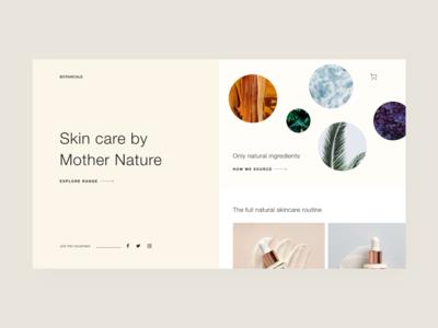 Light Skincare Webpage