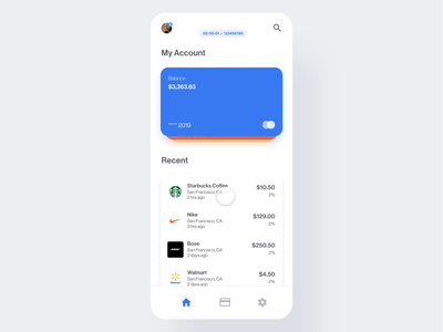 Bank App | Interaction
