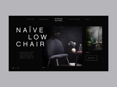 Bespoke Furniture Webpage