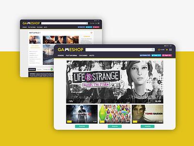 Gameshop Website debut shop design shop icon set website banner website gaming game uidesign uiuxdesign uiux icon ux logo design ui dribbble
