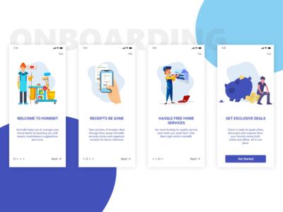 Onboarding app concept