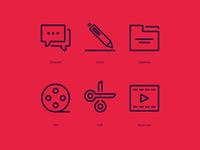 Daniel Harding Showreels Process Icons – 03