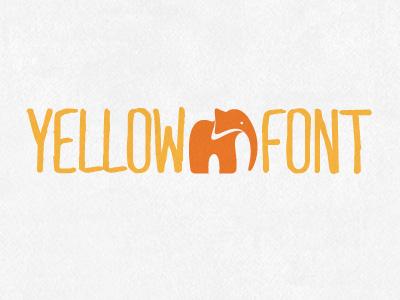 Yellowfont dribbble
