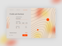 Credit card checkout payment credit card credit card checkout nude ux ui web webdesign design dailyui