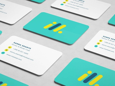 Intolead Business Card